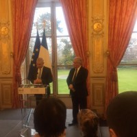 Légion honneur à G. Segura par Claude Bartolone