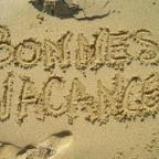 bonnes vacances dans le sable j 1 09