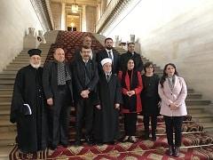 Petit déjeuner autorités religieuses et politiques palestiniennes 13.02.2018